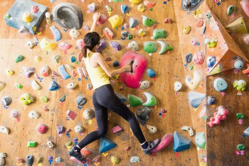 Female to do bouldering 19