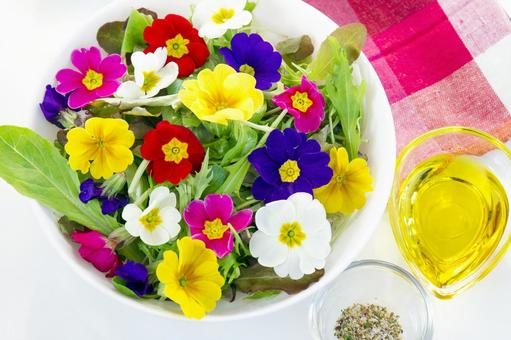 식용 꽃 샐러드 _3