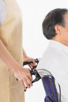 Wheelchair old man 3