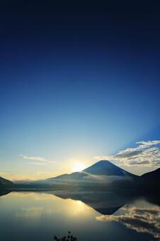 First sunrise from Mt. Fuji