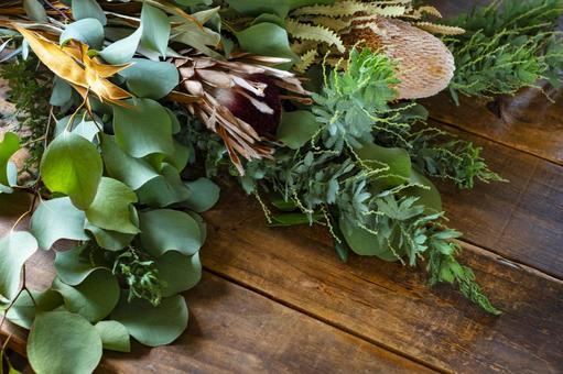 Australian botanical bouquet