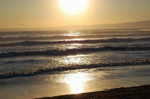 Shonan at sunset
