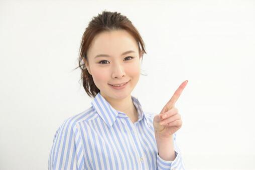 Japanese carrier woman's portrait 3