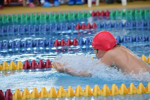 Breaststroke future Olympic athlete