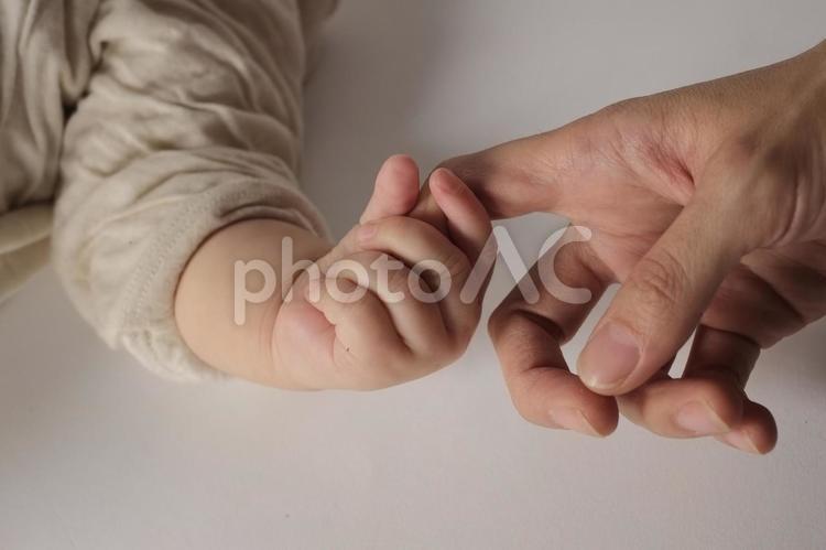 手 と 手 1の写真