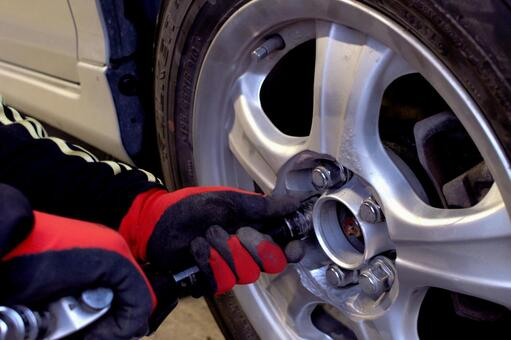 Tire exchange