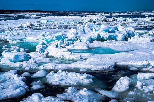 Drift ice (No. 13) Search word / Drift ice creator name / YUTO @ PHOTOGRAPHER