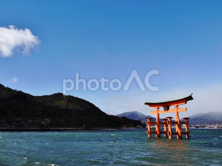 厳島神社の大鳥居 #3の写真