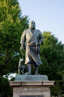 Saigo Takamori Statue 2