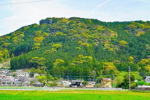 산간 마을
