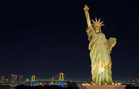 The Statue of Liberty Christmas