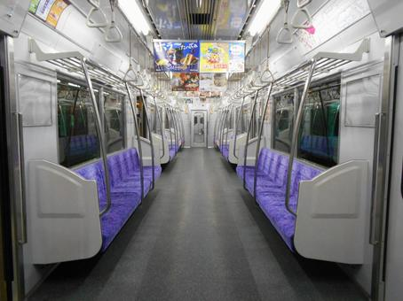 Unmanned train Inside the train (14)