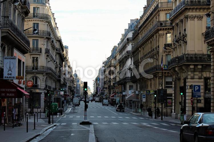 フランス パリ 街並みの写真