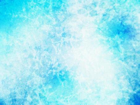 수채화 풍 겨울 이미지 얼음 배경 텍스처