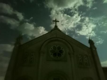 Moonlight church