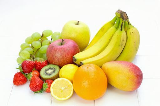 Ichigo and lemon, Orange, Kiwi, Muscat and apples, Banana and Mango 3