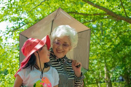 孫女和奶奶