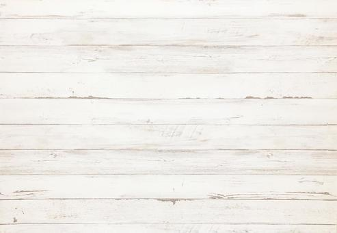 White wooden wall