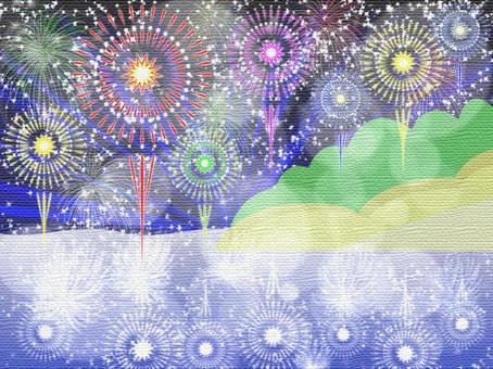 Flower fire 04 murals