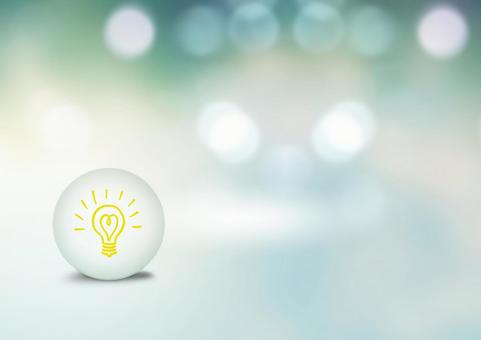 Image of light bulb and environment