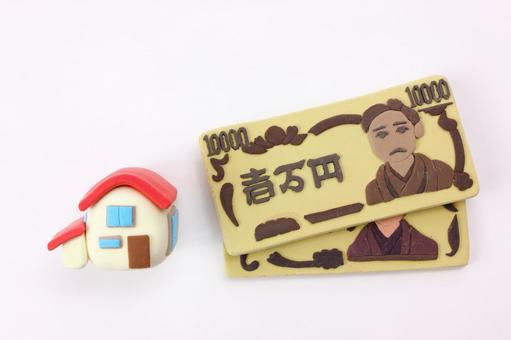 Clay art's bill and house