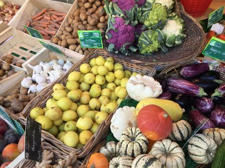 프랑스 야채 가게 가을부터 겨울 2