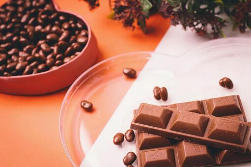 Board chocolate and wheat chocolate 3
