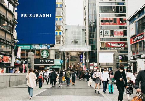 오사카 난바 도톤보리의 풍경