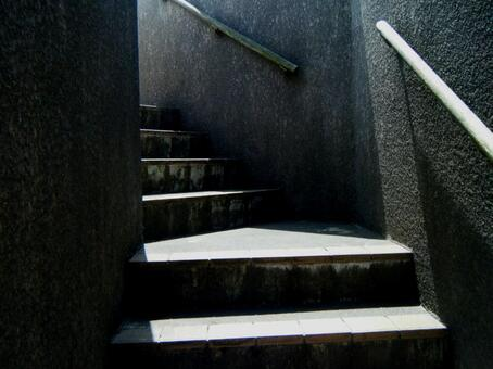 Staircase at the observatory