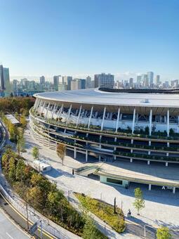 Autumn National Stadium Sendagaya Gate