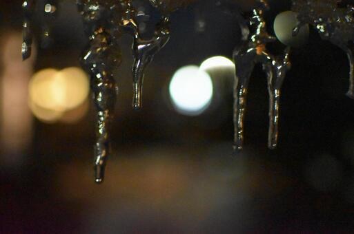 Carport icicles