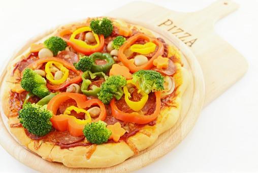먹음직스러운 피자