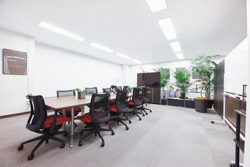 Meeting room in a green office