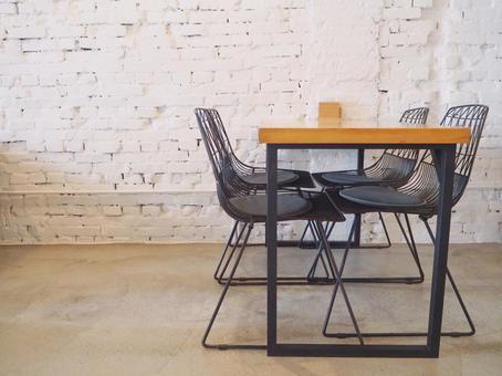 세련된 회의 공간 카페