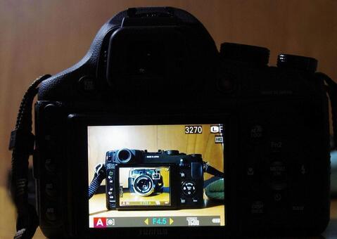 Camera on camera