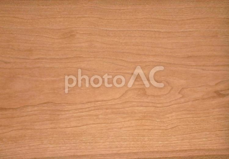 木のテクスチャー(樹種:ブラックチェリー)の写真