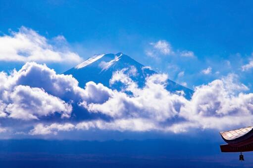 View of Mt. Fuji from Arakurayama Sengen Park