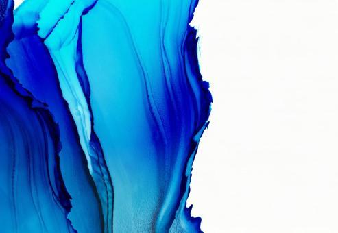 Background Texture Blue Summer Alcohol Ink Petal Ink Art Frame Wave
