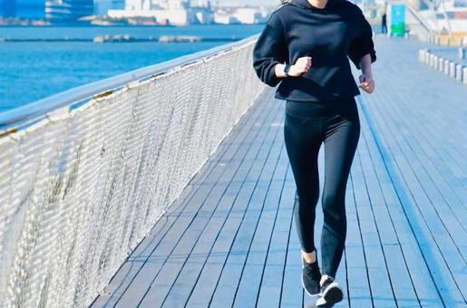Female jogging diet