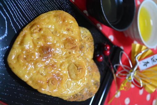 心脏米饼干