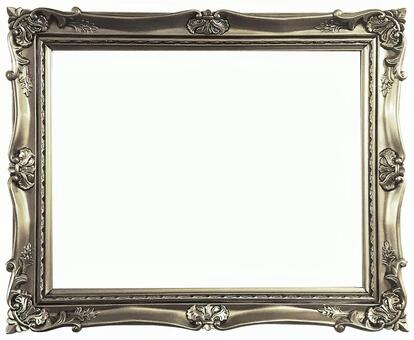 Antique silver frame 8