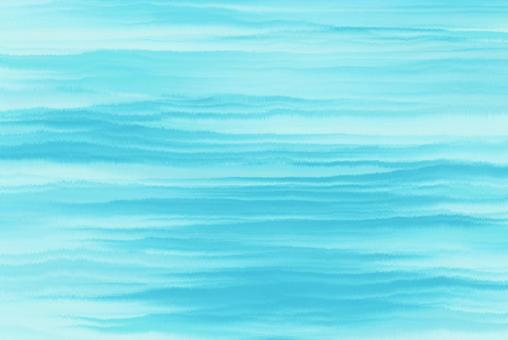Background texture summer watercolor embossed blue wave wave curve