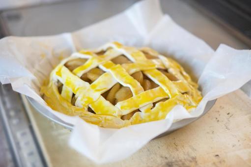 Handmade apple pie
