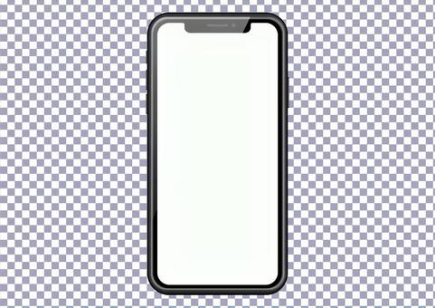 Smartphone frame-PSD file for easy mock synthesis
