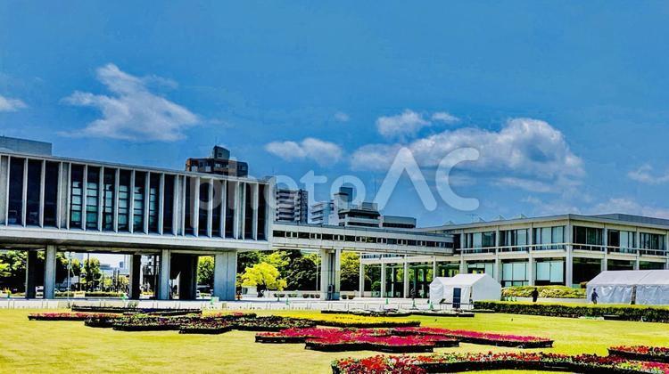 広島 春の平和記念公園の写真