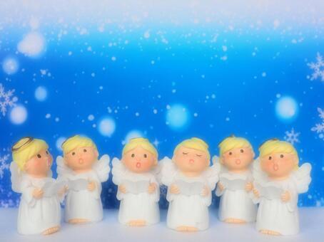 소형 잡화 크리스마스 - 천사 합창단의 합창