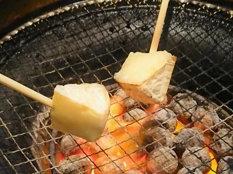 串焼きチーズ