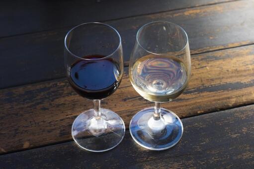 레드 와인과 화이트 와인