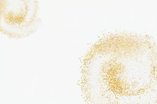 Uzumaki glitter background material white
