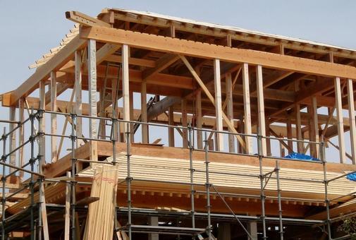 목조 주택 건설 현장 36